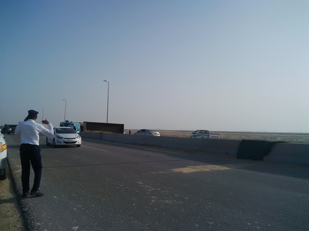 Management of Al-Khaldiyah Road to optimize Safety and improve sight View