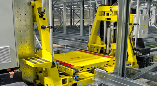 Design of an Automated Storage and Retrieval System (ASRS)