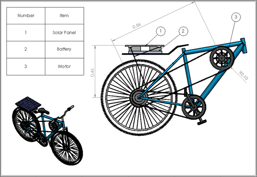Design of an Energy Efficient Bicycle