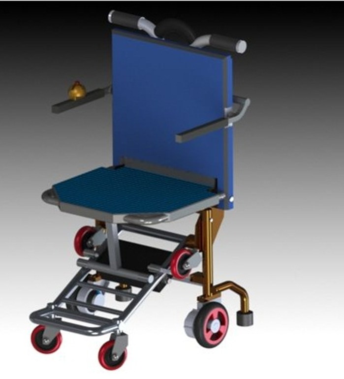 An Electrical Foldable Wheelchair