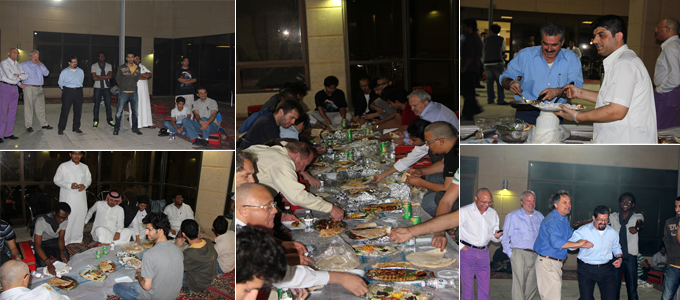 BBQ for the PMU Faculty