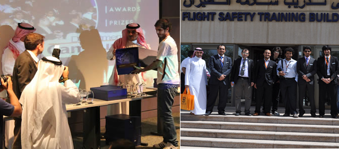 Flying Club visits Saudi Airlines company in Jeddah