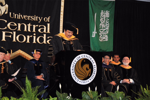 Honorary Doctorate from university of central Florida(UCF)