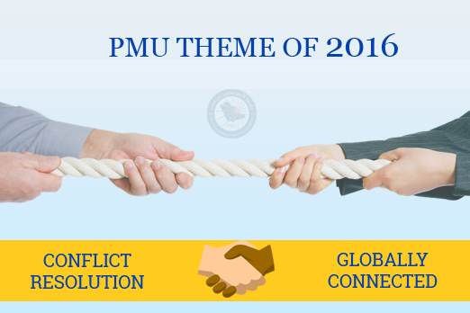 PMU Theme of 2016